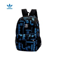 Waterproof and durable Classic wild Men's travel bag Adidas Backpack Adidas Backpack กระเป๋าสะพาย A