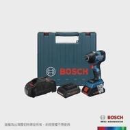 【BOSCH 博世】18V超核芯鋰電免碳刷衝擊起子機 GDR 18V-200 C 雙 4.0Ah 套裝