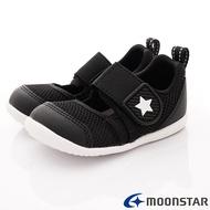 日本月星Moonstar機能童鞋HI系列寬楦頂級速乾鞋款1176黑(寶寶段)