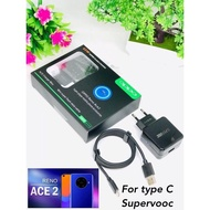 Travel Charger Oppo Reno Ace2 Type C Casan Oppo Type C 65w Charger Oppo Reno Type C Super Vooc Usb