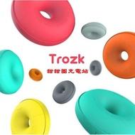 【優活】甜甜圈充電站【新款上市】甜甜圈 旅行排插 便攜創意插排 接線板多功能USB充電器 插座 六色可選
