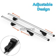 "120KG LOCKABLE CROSS BARS Anti-Theft Luggage 53"" 135cm AERO Car Roof Bars  Carrie Cargo"