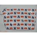 貳拾肆棒球-日本帶回美國職棒大聯盟MLB紐約洋基化妝包/小物包/文具包