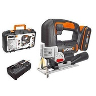 WORX Power Tools WX550 Rechargeable 20V Li-Ion battery Cordless Electric saw garden reciprocating saw and jig saw