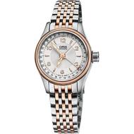 【ORIS 豪利時】Big Crown 指針式日期女錶-29mm(0159476804331-0781432)