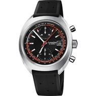 ORIS 豪利時 CHRONORIS 限量賽車計時機械錶-黑/40mm 0167377394034-SetRS
