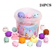 Squishies squishy toy party favors for kids mochi squishy toy moji kids party favors 24pcs