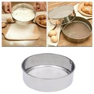 Stainless Steel Flour Sieve Cake Baking Mesh Tool Ultra-fine Filter Bread Making Tool