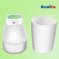 AcoMo PS II專業紫外線奶瓶殺菌器(USB六分鐘+2底座)-共4色可選