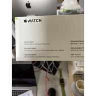 全新 Apple Watch44/42mm 原廠錶帶 黑全新未拆封