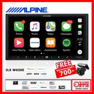 ALPINE iLX-W650E เครื่องเล่น 2 DIN 2 ดิน จอภาพระบบสัมผัส ขนาด 7 นิ้ว ที่มาพร้อมกับ Apple CarPlay และ Android Auto สามารถสั่งงานด้วยเสียง เครื่องเสียงติดรถยนต์