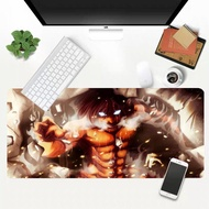 Attack On Titan gamer play mats BIG SIZE Rubber Game Mouse Pad 2020 hot sales lord of the mouse pad 3mm mouse pad