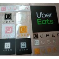Uber系統反光貼紙客制化544