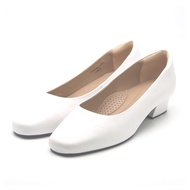 รองเท้าส้นสูง หนังนิ่ม ไม่กัดเท้า รองเท้าทำงาน รองเท้าสีขาว รองเท้าสีดำ รองเท้าคัชชูหนังวัวแท้ 100% รองเท้าผู้หญิง Sofit รุ่น SU887NL