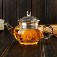 WEIY】耐熱玻璃茶具花茶壺側把煮茶壺帶過濾內膽小容量耐高溫茶壺250ml