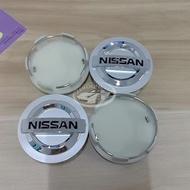 60MM Nissan 日產 輪轂中心蓋 輪胎標 汽車 車輪中心蓋 標誌 輪轂蓋 車輪標 輪圈蓋 輪蓋 4pcs 現貨