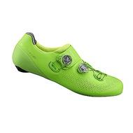 【SHIMANO】RC901 男性公路車競賽級車鞋 寬楦 綠色