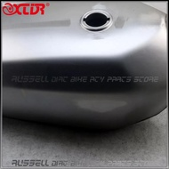 Gas Fuel Tank 9L 2.4 Gallon Cafe Racer For HONDA CG125 CG125S CG250 No paintA