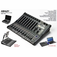 Mixer Audio Ashley LM8 Original 8Channel Bluetooth USB to PC Garansi