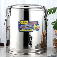 不銹鋼保溫桶商用加厚飯桶大容量奶茶桶茶水豆漿冰桶開水桶帶龍頭ATF