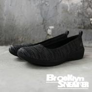 SKECHERS ARYA DIFFERENT EDGE 黑灰 條紋 黑底 休閒鞋 女 (布魯克林) 23752BBK