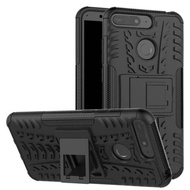 SOFTCASE HUAWEI Y6 2018 - CASE RUGGED ARMOR KICK STAND HUAWEI Y6 2018