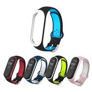 小米手環4/3代 雙色透氣洞腕帶 錶帶 替換帶(副廠)
