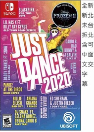 全新未拆 可面交 舞力全開 Just Dance 2020 NS SWITCH 中文美版 任天堂