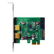 伽利略 PCI-E USB3.0 4 Port擴充卡 Renesas-NEC 晶片(前2-19in+後2)(PEN219)