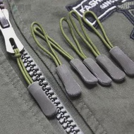 3PCS Zipper Puller EndสายซิปTabเปลี่ยนClip Fixerหักหัวเข็มขัดกระเป๋าเดินทางกระเป๋าเป้สะพายหลังเชือก: เครื่องมื...