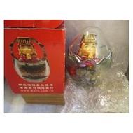 五色石 媽祖 玻璃蛋罐
