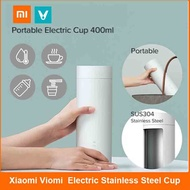 小米雲米旅行電熱杯 Viomi 隨身電熱杯 /輕巧便攜,智能控溫 / 400ml旅行容量 / 304不鏽鋼