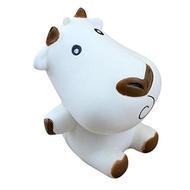 (Hometom) Squishy Toy, Hometom Cute Cows Squishy Toy- (Color:White)