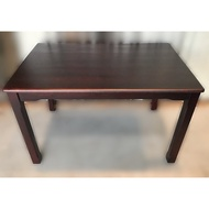 二手家具推薦【宏品二手家具】全新EA110601胡桃實木餐桌 *2手桌椅拍賣 會議桌椅 戶外休閒桌椅 課桌椅