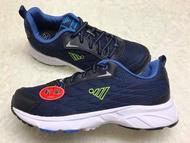 【Jolove】JUMP將門男鞋/輕量彈性運動鞋2021 藍色