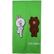 LINE我愛熊大-門簾(85*150cm)【愛買】