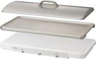 Panasonic【日本代購】松下 桌上型 雙口 IH調理爐 電磁爐 電烤盤 KZ-CX1-W