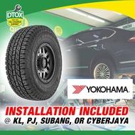 YOKOHAMA TYRE 245/70R16 Geolandar H/T G056 Tyres (with installation)