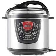 6 Quart 8-in-1 Multi-Function Electric Pressure Cooker, Digital Multi-Use Stainless Steel Cooker, No