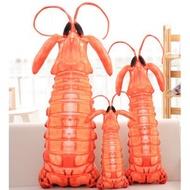 【洛洛精品】創意動漫周邊皮皮蝦我們走抱枕毛絨玩具公仔瀨尿蝦女生玩偶布娃娃