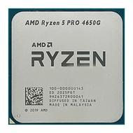 AMD Ryzen 5 PRO 4650G / R5-4650g /Ryzen 7 PRO 4750G / R7 4750G CPU clocked at 3.7GHz six-core twelve-thread Socket AM4 desktop chip DDR4 processor