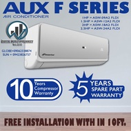 Brand new AUX 1hp F SERIES split type inverter wall mounted aircon ASW09A2/FLDI