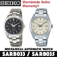 Seiko SARB033 / SARB035 Automatic Mens Watch Discontinued *Made in Japan* WORLDWIDE WARRANTY