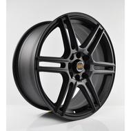 VOLK RACING 17 incH 4X100 4X114.3 CAR SPORT RIMS CHEAP WHEELS FLAT BLACK Y08