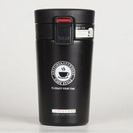 巢品 咖啡杯 保温杯子便携水杯304不锈钢双层 巢品便携咖啡保温杯—白320ML 巢品便携咖啡保温杯—黑320ML