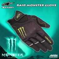 [安信騎士] 義大利Alpinestars RAID MONSTER 鬼爪 聯名 皮布混合 防摔手套 透氣 A星 觸控