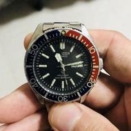 Vintage rare citizen crystron quart 150m diver watch wit 🇯🇵 Kranji date wit perpsi berzel,wat u c wat u get tks