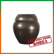 Korean Traditional Onggi(Jar) Sleek shape - 2L