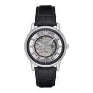 ARMANI AR1981 大鏤空設計 熱銷機械錶款 真皮錶帶 錶現精品 原廠正品