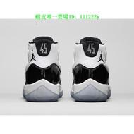 NIKE Air Jordan 11 Concord 康扣 AJ11 #45 378037-100